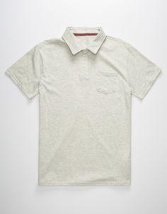 BLUE CROWN Mens Polo Shirt   282519425 | Polo Shirts