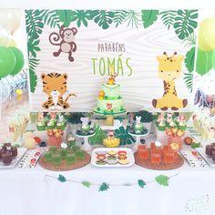 Festa Selva - Baby Safari  Jungle / Baby Safary party Decor