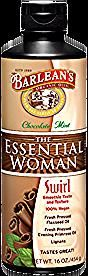 Barlean's Organic Oils The Essential Woman Swirl Chocolate Mint Organic Oils, Slim Belly, The Essential, Mint Chocolate, Woman, Health, Happy, Recipes, Health Care