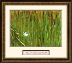 Trust in Him Framed Painting Print