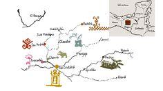 Les communautés qui composent El Camino de los Altos --- Las comunidades que conforman El Camino de los Altos #chiapas #sancristobaldelascasas #chamula #zinacatlan #sanandres #pantelho #oxchuc