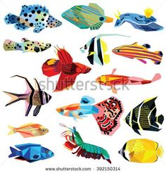 Image result for low poly angelfish