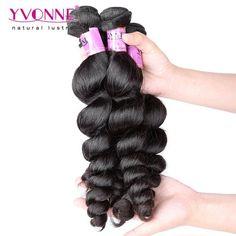 Grade 5A 100% Brazilian Spiral Curl Virgin Hair Weave 1B Color