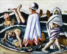 max beckmann The beach at Lido - Google Search