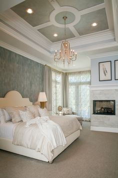 #TrimspirationContest I am inspired by Metrie's interior finishings! If you are too, enter the Metrie Pin to Win Sweepstakes! #TrimspirationContest [This bedroom is finished with the Metrie Fashion Forward Collection]