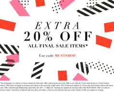 another j.crew email blast. i'm just loving the shapes, slight textures, dots, colors. SO much.