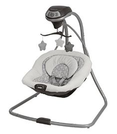 Buy Graco Simple Sway Baby Swing, Abbington with big discount! Only 9 days. Get Graco Simple Sway Baby Swing, Abbington with worldwide shipping now! Portable Baby Swing, Plug In Baby Swing, Portable Crib, Baby Swings And Bouncers, Baby Calm, Baby Bouncer, Baby Registry, Baby Essentials, Baby Toys