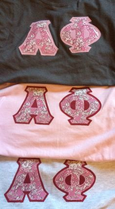 Alpha Phi Sorority Letters by LaHerds on Etsy, $15.00