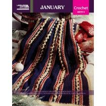 A Year of Afghans, Book 4 - January ePattern