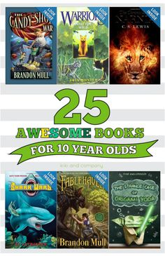 25 Awesome Books for 10 year olds - Storefront Life - Storefront Life Dare Books For Boys, Childrens Books, Kids Reading, Reading Lists, Good Books, Books To Read, Library Books, Library Ideas, 10 Year Old Boy