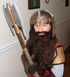 Gimli the Dwarf - Lord of the Rings Halloween Costume