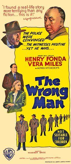 The Wrong Man (1956) alfred #hitchcock henry #fonda vera #miles