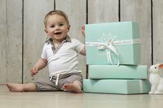 Short Sleeve Collar Onesie and Drawstring Bloomer #mariechantal #baby #babygifting #onesie