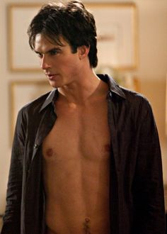 Damon, you left your shirt op... actually, never mind, you're fine.