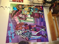 Monster High Wall Decor roommates rmk2190scs monster high peel and stick wall decals