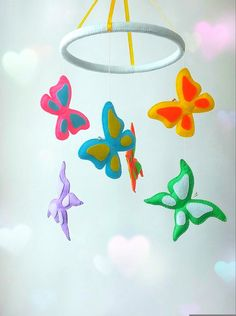 Hey, I found this really awesome Etsy listing at https://www.etsy.com/listing/262334643/butterfly-mobile-baby-mobile-hanging