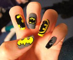 Batman Nails.