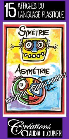 Posters - Elements of Art. For Visual Art. 14 Posters - Elements of Art. For Visual Posters - Elements of Art. For Visual Art. Elements And Principles, Elements Of Art, Artists For Kids, Art For Kids, Programme D'art, Arte Elemental, Art Room Posters, Classe D'art, Art Français