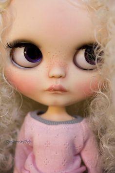 Vanilla RBL usine Blythe OOAK Cheveux frisé par OneSweetyDoll