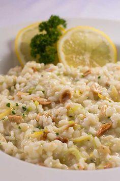 Risoto de limão siciliano