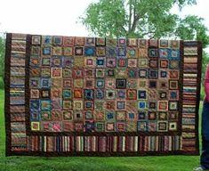 Gorgeous Scrap Quilt by Karen Hueners