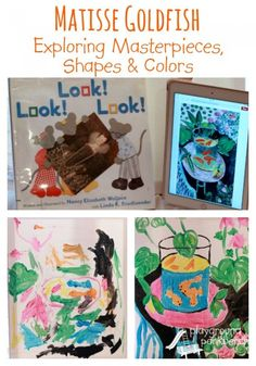 Matisse Goldfish Masterpieces Shapes and Colors - Art History for Preschool