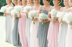 A Beautiful Outdoor Shabby Chic Wedding - Inspired Bride