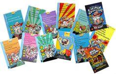 colección Capitán calzoncillos, libros infantiles
