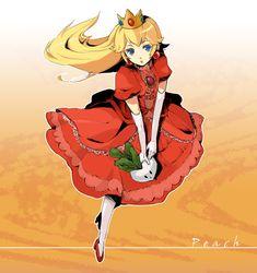 Princess Peach Hot Fan Art | Princess Peach Peachy!