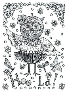 pajarito2 | tatuajes | Pinterest | Drawings, Adult coloring and ...