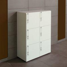 Houten 6-deurs lockerkast Nova | Kantoormeubelen |  wooden locker with 8 doors