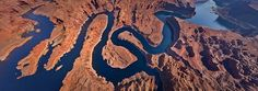 Lake Powell, Utah-Arizona, USA | 360 Degree Aerial Panorama | 3D Virtual Tours Around the World | Photos of the Most Interesting Places on t...