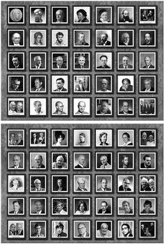 Galería de matemáticos de Michael y Lily Atiyah - Gaussianos   Gaussianos