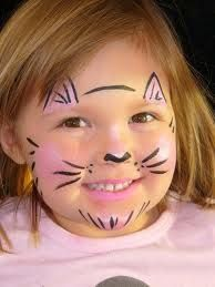 kitty face painting - Google Search