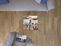 """Die #Klebefolie mit dem Design """"Skyline NYC"""" für deine IKEA Möbel und vieles mehr… #IKEA #Hacks #LACK"""