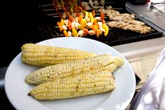 All-American 4th of July BBQ Recipes : Basic Grilled Sweet Corn