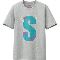 MEN PIXAR GRAPHIC SHORT SLEEVE T SHIRT Monster University, Monsters Inc, Uniqlo, Pixar, Sleeve, Mens Tops, T Shirt, Manga, Supreme T Shirt