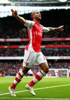 #Walcott #Arsenal <3