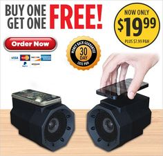 BoomTouch™ Speaker — Buy One Get One FREE!