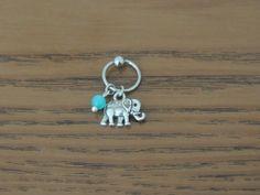 Elephant Captive Bead Hoop Cartilage Hoop by heartsandmermaids, $8.00