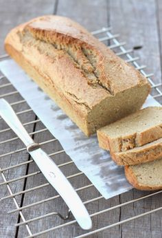 Grain-free Coconut Cashew Bread. Cut out the vegetable oil and substitute almond milk.