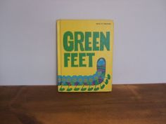 Green Feet Retro Economy Company Reader Book by jessamyjay on Etsy