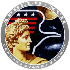 Apollo 17 Patch by GeneralTate on deviantART