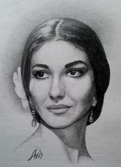 Maria+Callas+by+Amra