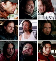 Yah, Bucky!!!! I love Bucky, in all these faces!!!!