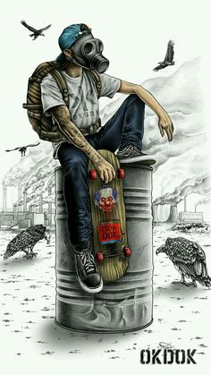 Mens Style Discover Skate Toxic wallpaper by sampa_star - - Free on ZEDGE Graffiti Art Graffiti Wallpaper Artistic Wallpaper Graffiti Tattoo Arte Dope Dope Art Joker Wallpapers Gaming Wallpapers Iphone Wallpapers Graffiti Art, Graffiti Wallpaper, Cartoon Wallpaper, Artistic Wallpaper, Graffiti Tattoo, Batman Wallpaper, Nike Wallpaper, Wallpaper Wallpapers, Gas Mask Art
