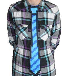 8-bit Geek Tie - Novelty Concept