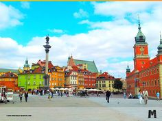 Ciudad Vieja de Varsovia, Polonia