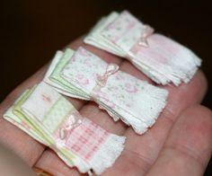 sweet miniature linens