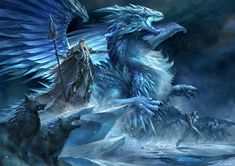 Tagged with art, awesome, dragon, creativity, dump; Mostly fantasy art dump Ice Dragon, Baby Dragon, Fantasy Dragon, Fantasy Warrior, Fantasy Creatures, Mythical Creatures, Illustration Fantasy, Ice Monster, Dragons